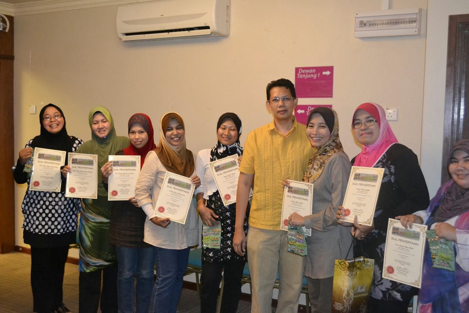 Bengkel Jahitan Manik di Terengganu