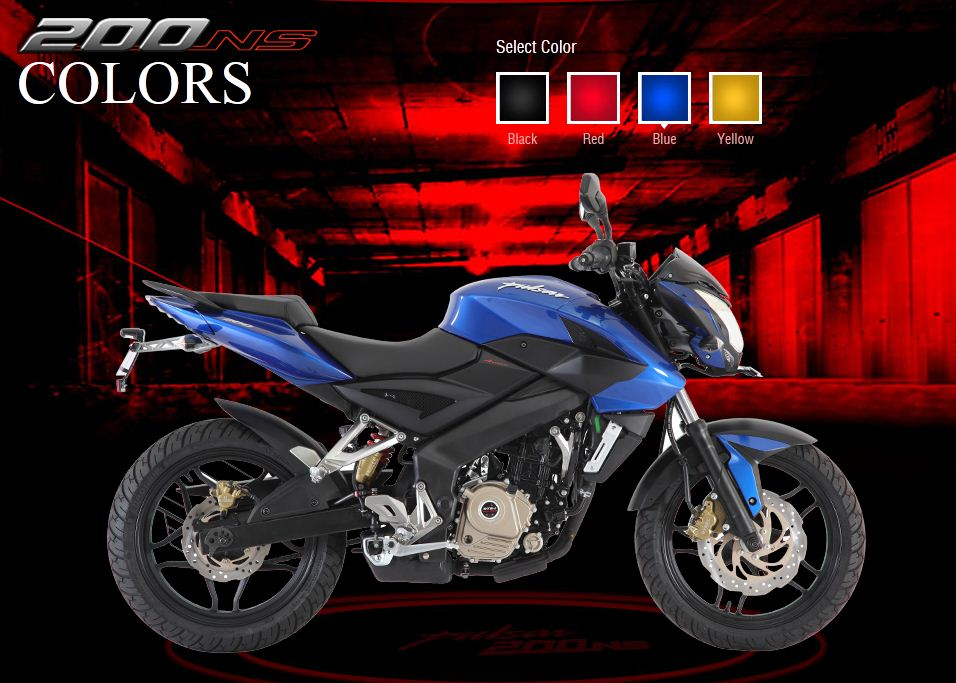 The New Pulsar 200NS - What A Bike  (Note Its Indian Bike Not Available In Pakistan) - Blue Pulsar200NS