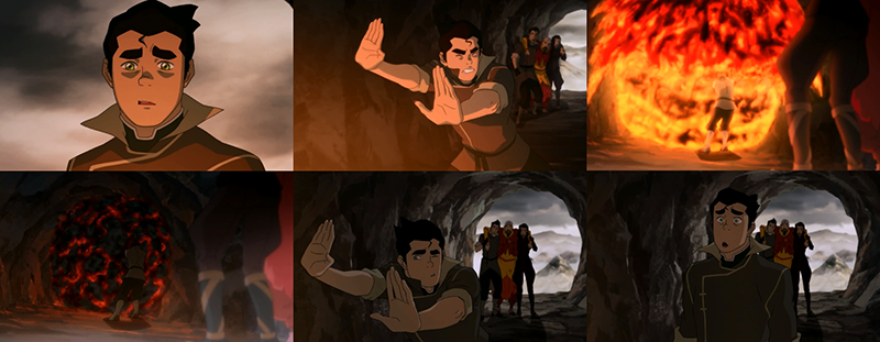 Let's not forget Bolin instantly learning Lava Bending, a ...