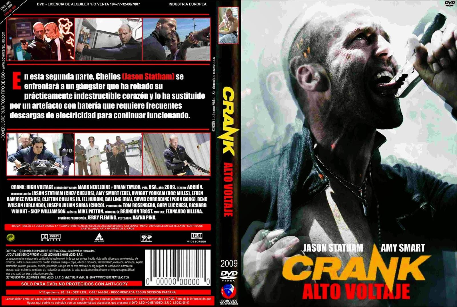Crank 2 (2009) [Dvdrip Latino] [Zippyshare]