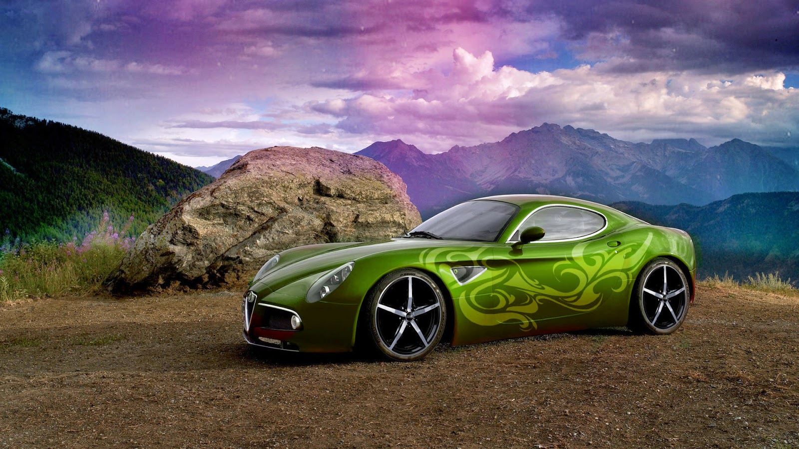 Alfa Romeo car high resolution pictures