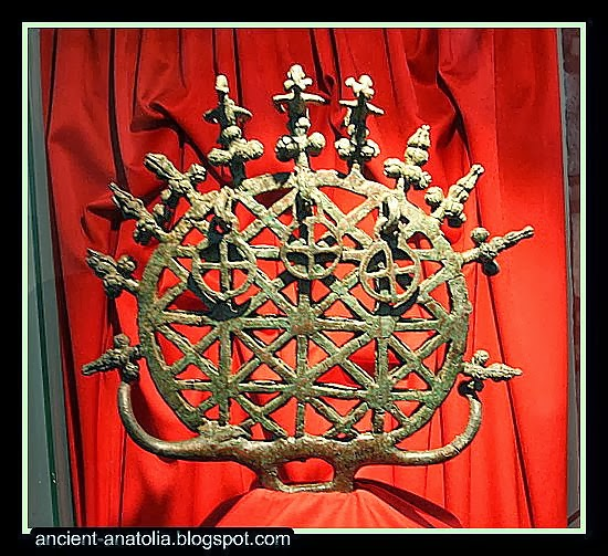 Hattian Sun Disc at Ankara Museum of Anatolian Civilizations