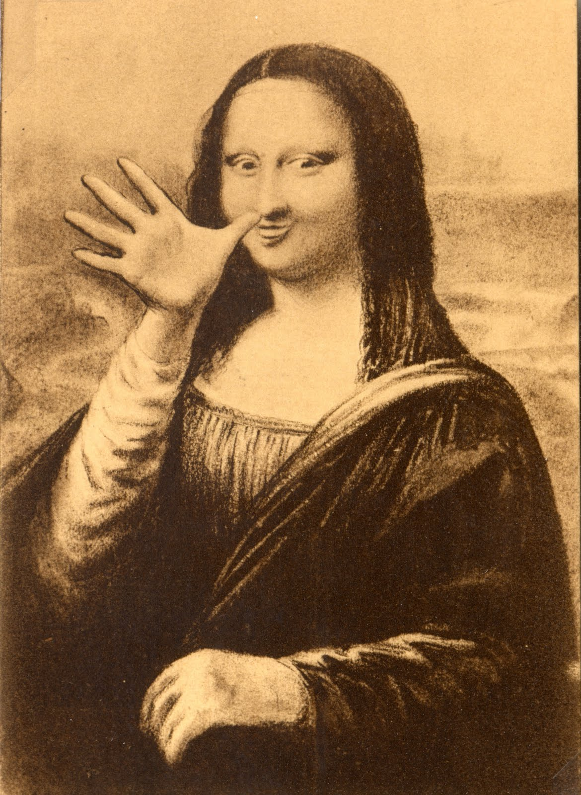 Everyone Jokes About The Mona Lisa Mona Lisa Is Missing