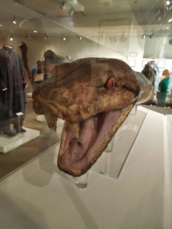 Voldemort Horcrux snake Nagini head prop