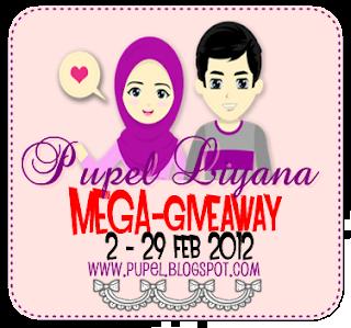 Pupel Liyana Mega Giveaway