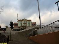 El mas Guinardó des del carrer del Juliol. Autor: Carlos Albacete