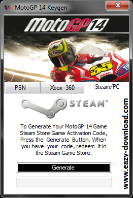MotoGP 14 Keygen Steam