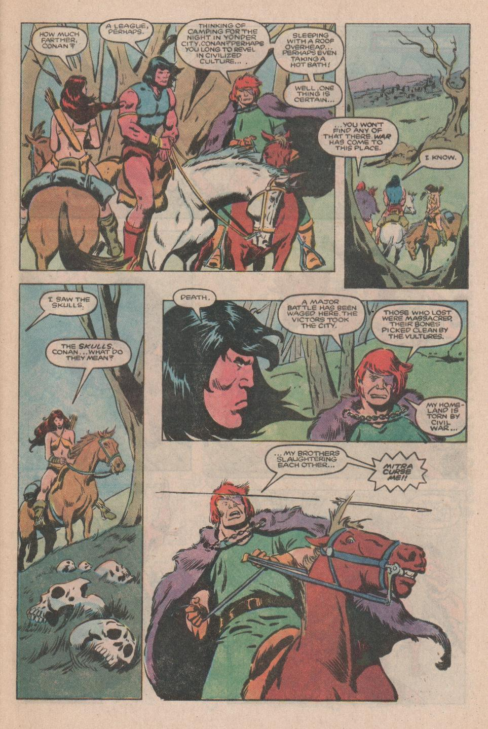 Conan the Barbarian (1970) Issue #174 #186 - English 4