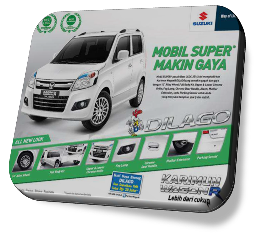 Suzuki Karimun Wagon R DILAGO