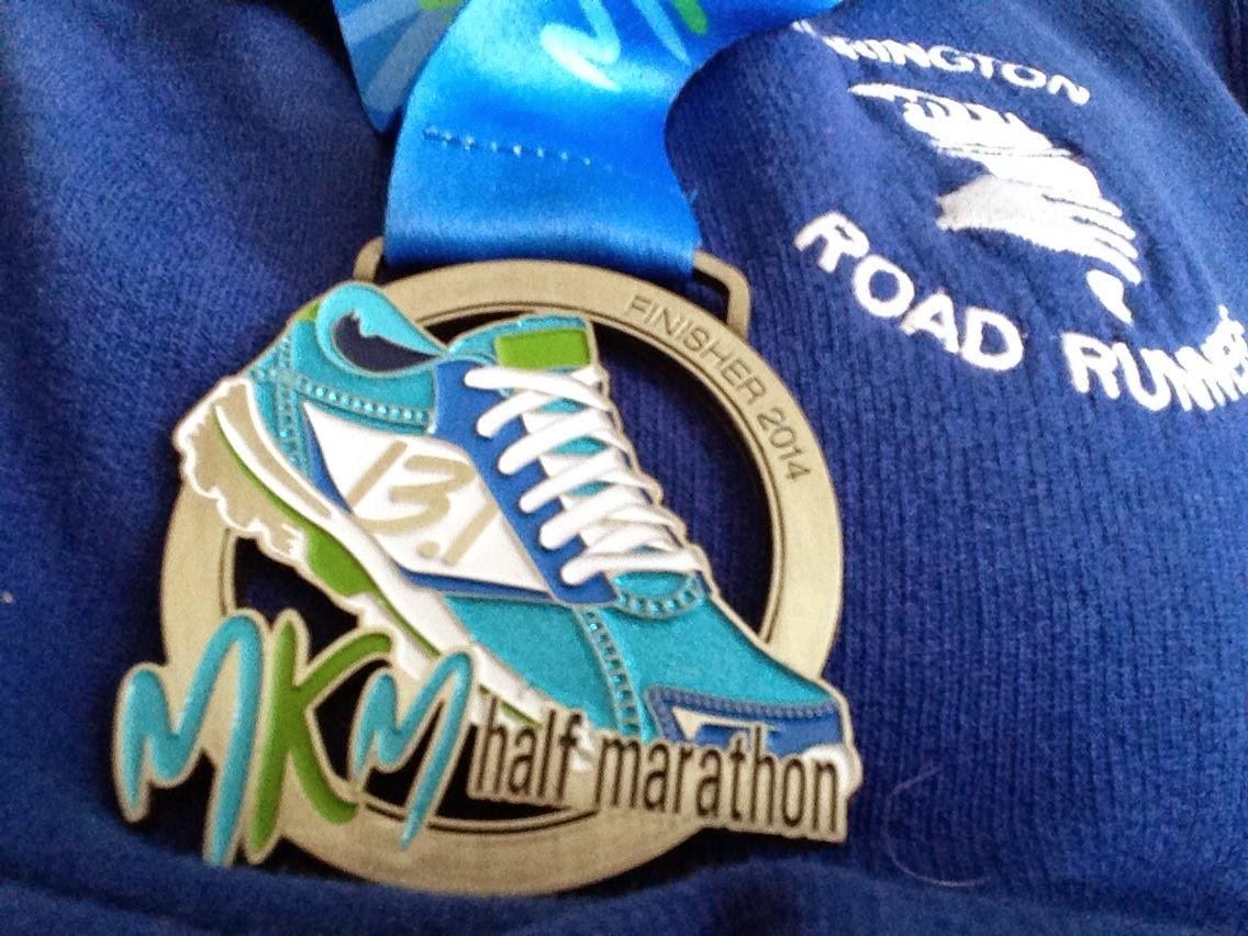 Milton Keynes Half Marathon Medal