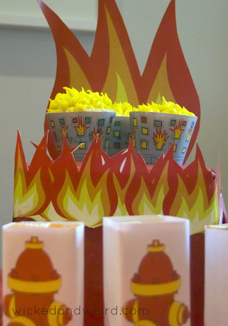 5_year_old_fireman_birthday_party_ideas_decorations_cupcake_wrappers_firetruck_cake