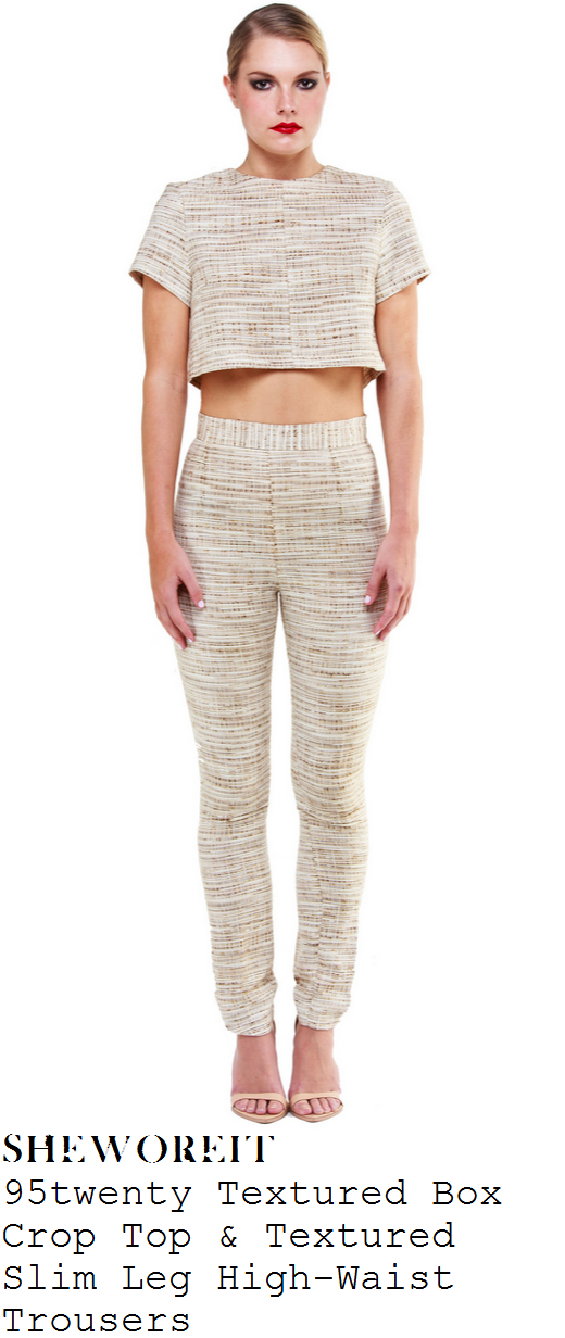 chloe-sims-cream-textured-tweed-crop-top-and-trousers-co-ords-towie