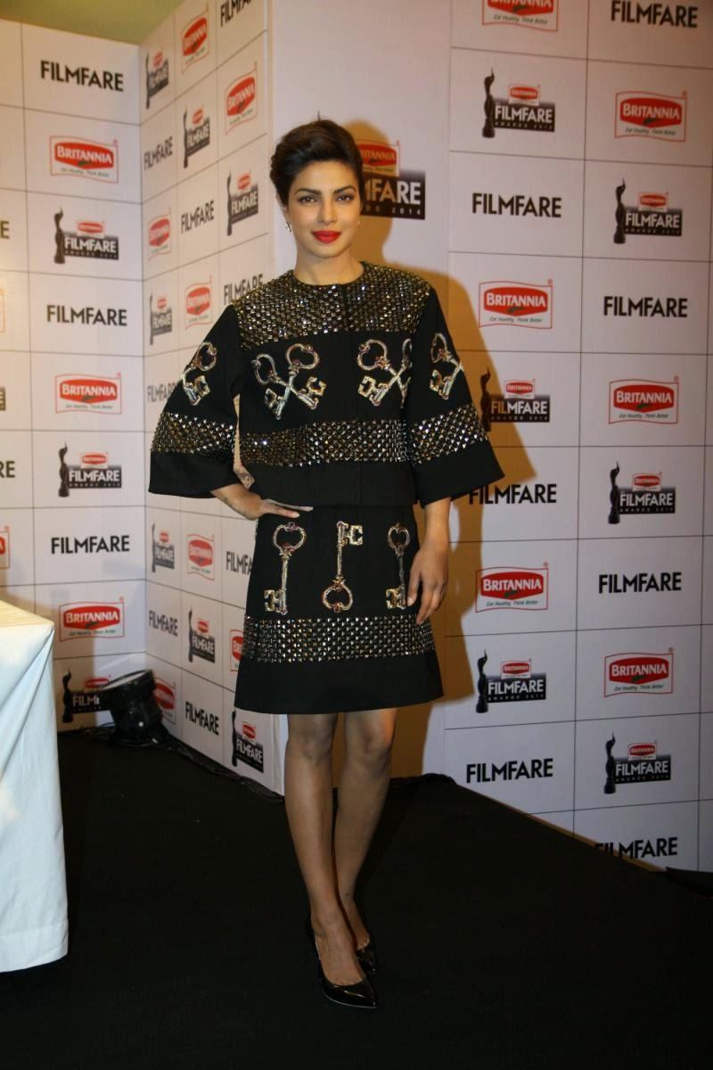 Priyanka Chopra at 60th Britannia Filmfare Awards Press Meet Photos