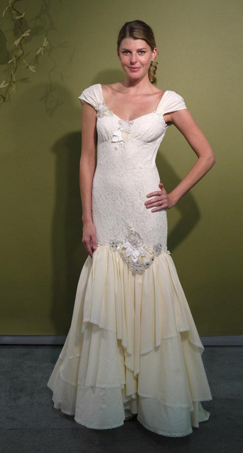 Bohemian Wedding Dresses Fall 2011 by Claire Pettibone