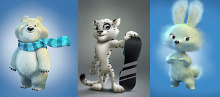 mascots for the 2014 Olympics