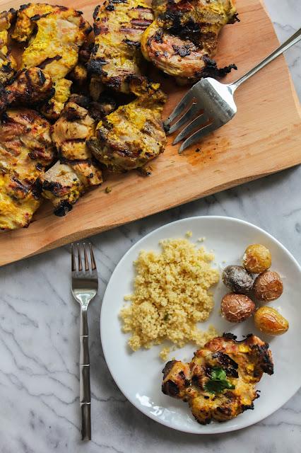 Grilled Tandoori Chicken   The Chef Next Door #MilkMeansMore
