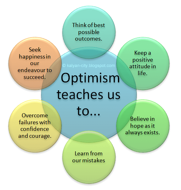 Optimism teaches us to