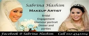 Sabrina Hashim Make Up Artist