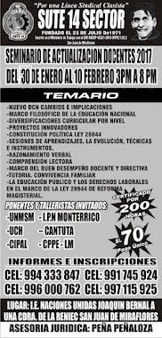 SEMINARIO DOCENTE Y TALLER DE DANZAS 2017