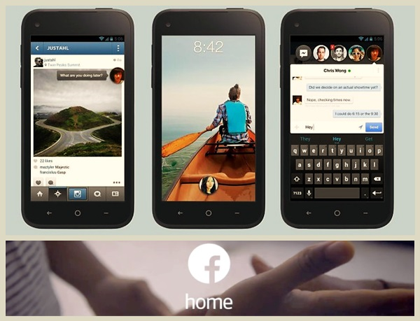 Facebook Home : New Update from Facebook