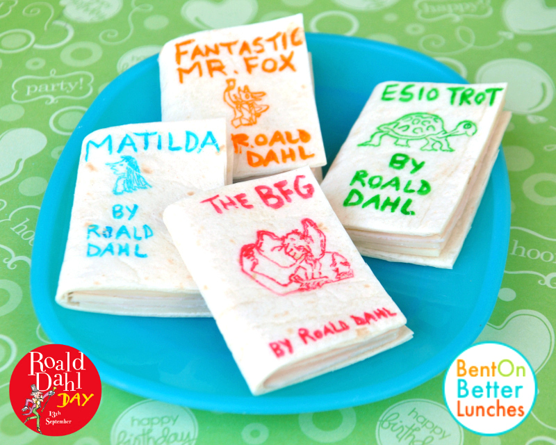Edible Books! by BentOnBetterLunches
