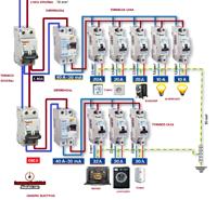 Febrero 2014 esquemas el ctricos - Cuadro electrico vivienda ...