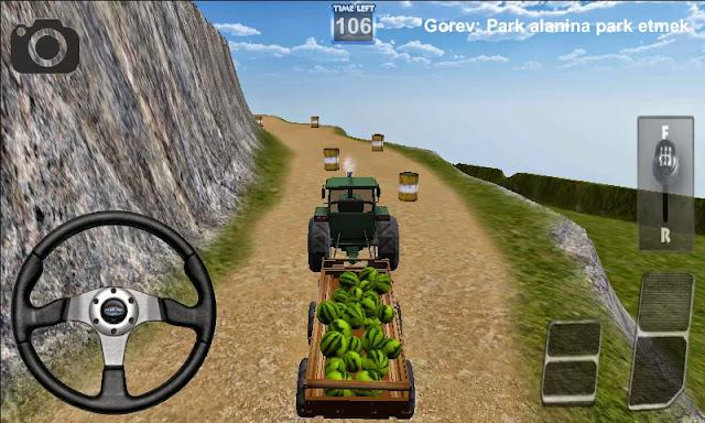 Android Traktör Sürme Oyunu 3D Apk resimi 2