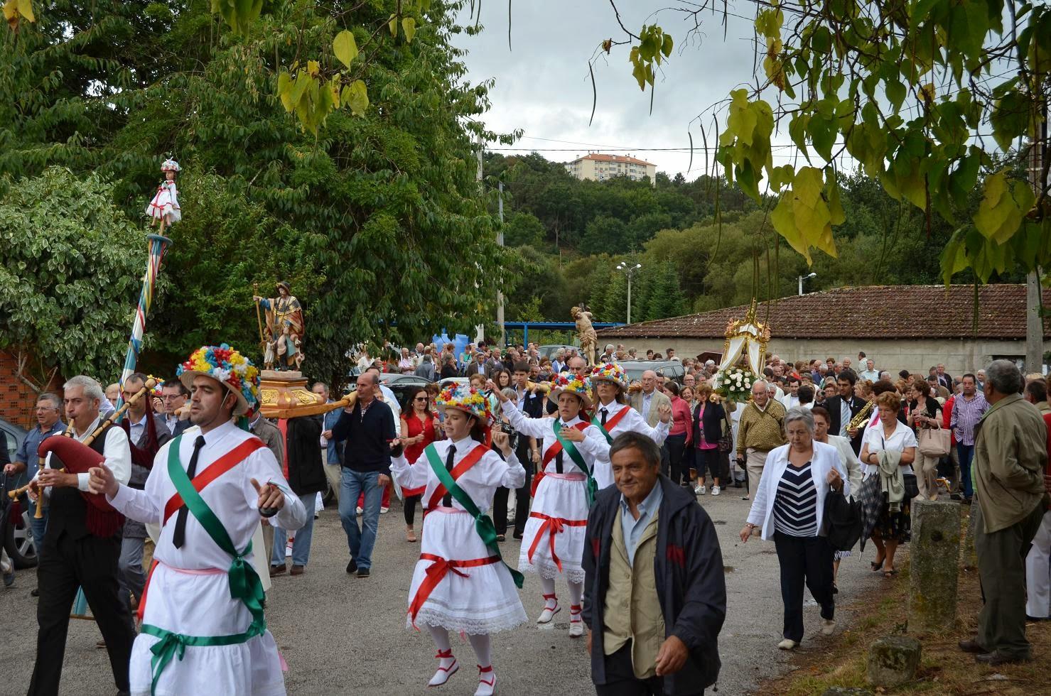 fiesta Virgen voyeur en Orense