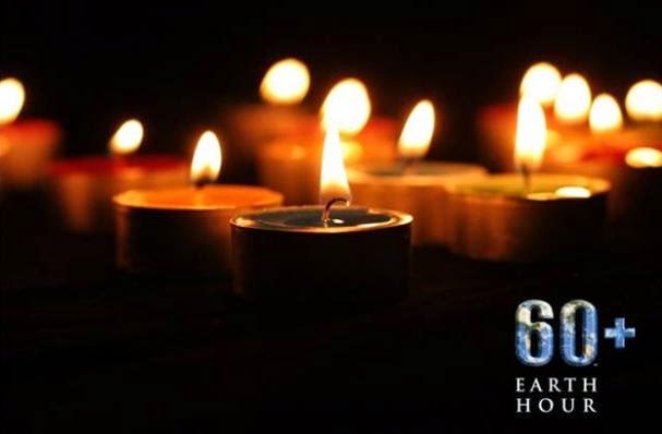 earth hour twitter sms