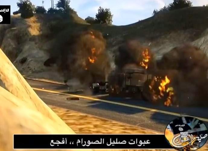 تنظيم '' الدولة الإسلامية '' يطلق أو لعبة إلكترونية خاصة به تحت اسم '' صليل الصوارم '' وإليك التفاصيل . .