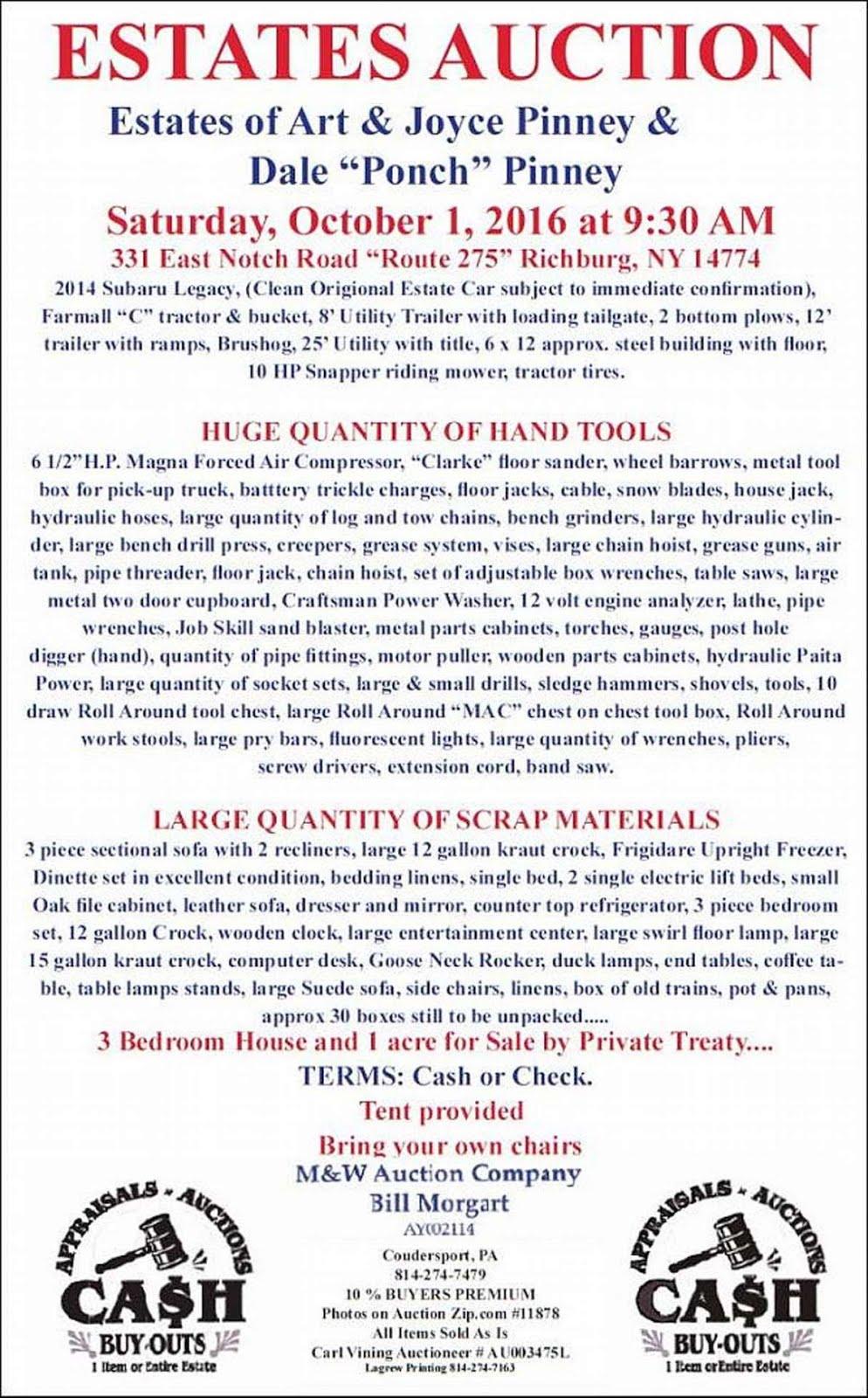 M & W Auctions