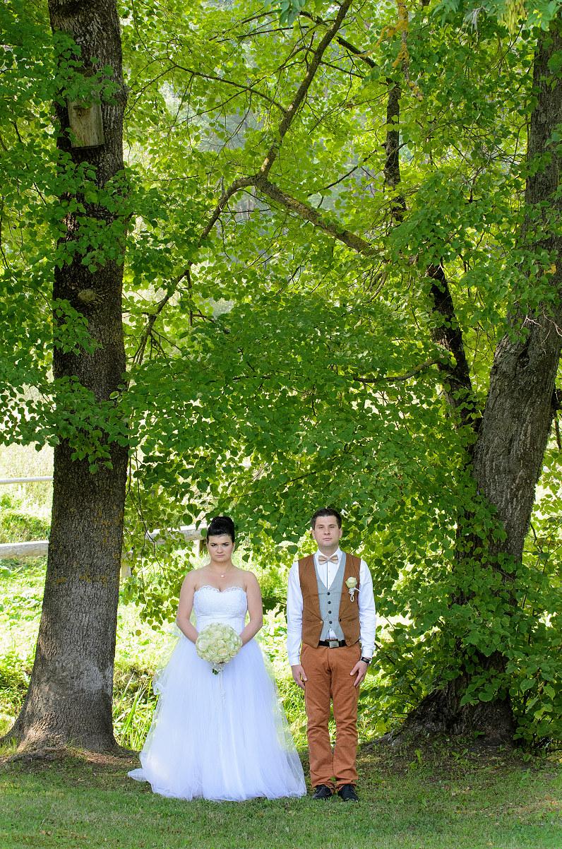 senovinė vestuvių fotografija