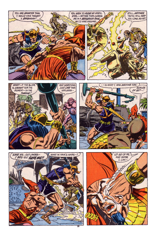 Conan the Barbarian (1970) Issue #247 #259 - English 22