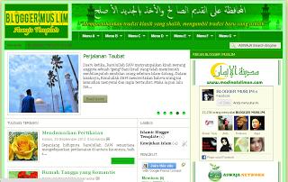 Blogger Muslim Template