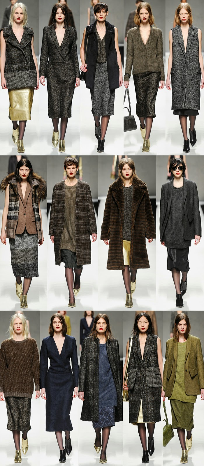 MaxMara fall winter 2014 runway collection, FW14, AW14, MFW, Milan fashion week