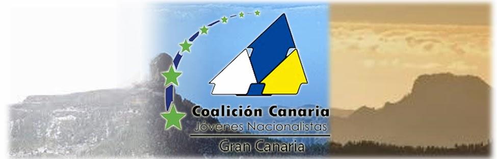 Jovenes Nacionalistas de  CC en Gran Canaria