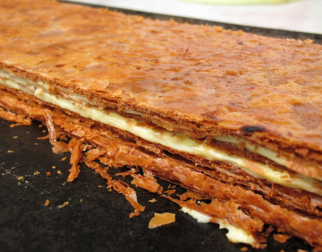 Pâtisserie Christian Cottard - Antibes - Millefeuille