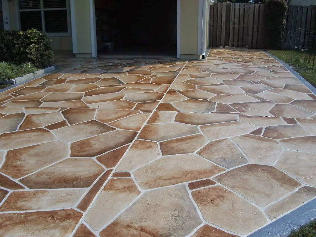 More Great Pictures Of Decorative Concrete By Patios Pools