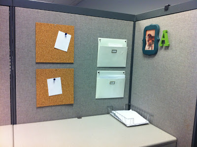 cubicle decor organization