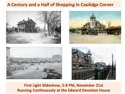 A century and a half of shopping in Coolidge Corner