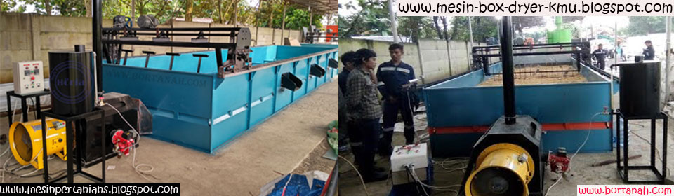 Mesin Box Dryer | Mesin Pengering Biji-bijian