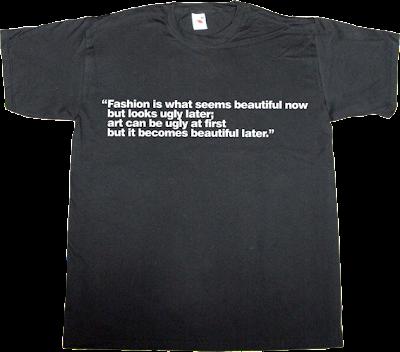 fashion art steve jobs brilliant sentence t-shirt ephemeral-t-shirts