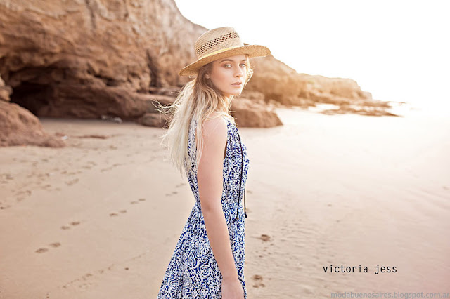 Vestidos primavera verano 2016 Victoria Jess. Moda primavera verano 2016.