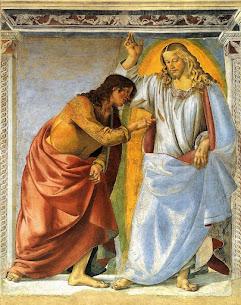 Iconography of the Resurrection – The Incredulity of St. Thomas (Doubting Thomas)