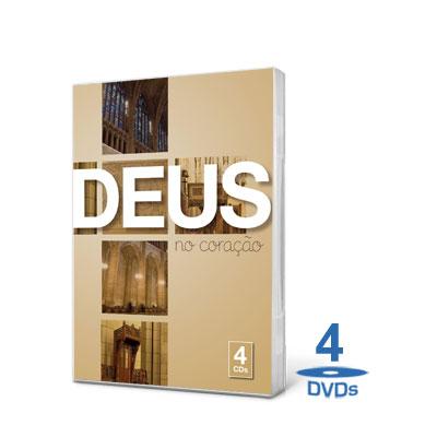 Box Deus no Coração 4 CDs (2011)  BOX XANDAO