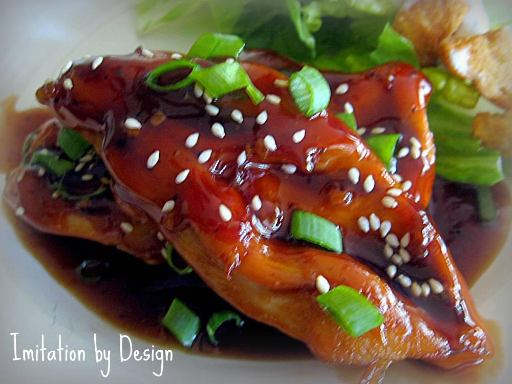 ... Design: Teriyaki Chicken Breasts & a Bonus Tip for Cooking Chicken