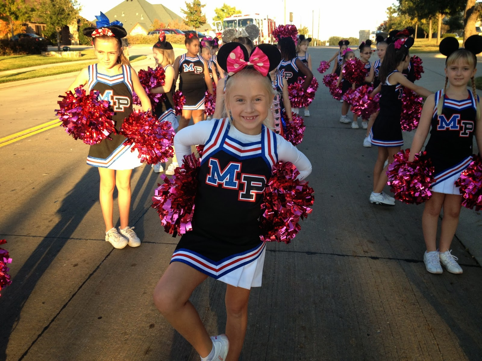 One of my favorite parts of the season was the Homecoming Parade. The girls danced to u0027Hey Mickeyu0027 and walked the route. Love the ears!  sc 1 st  conner family & conner family: Cheerleading - Mustang Panther Style