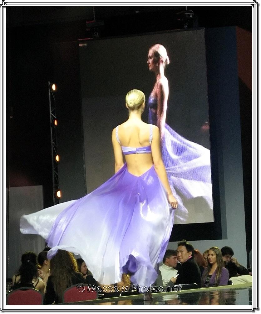 Fausto Sarli Collection. Moscow Fashion Expo - 2007.