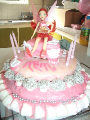 rosetta, tinkerbell, 4th birthday cake