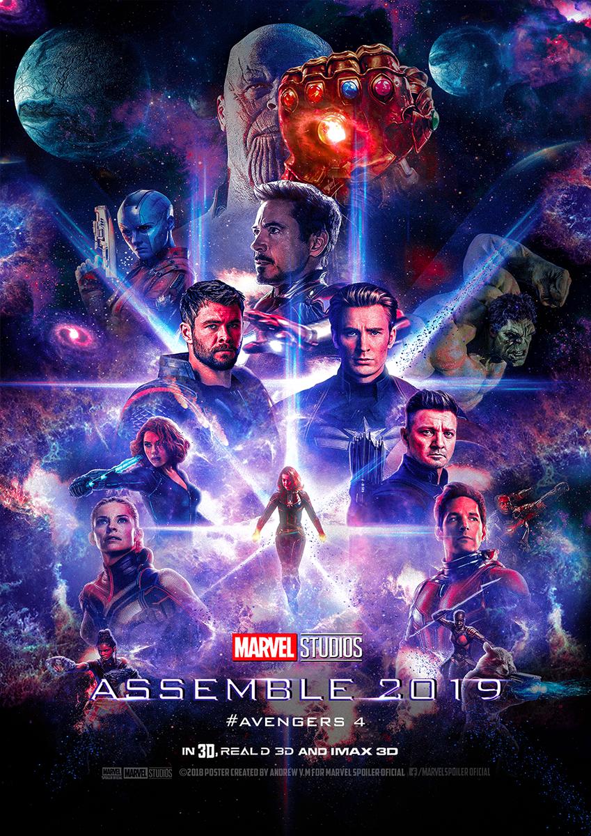 Avengers: Endgame 2019 Marvel